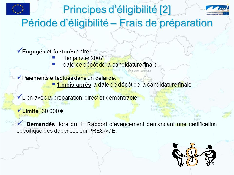 Principes d'éligibilité [2]